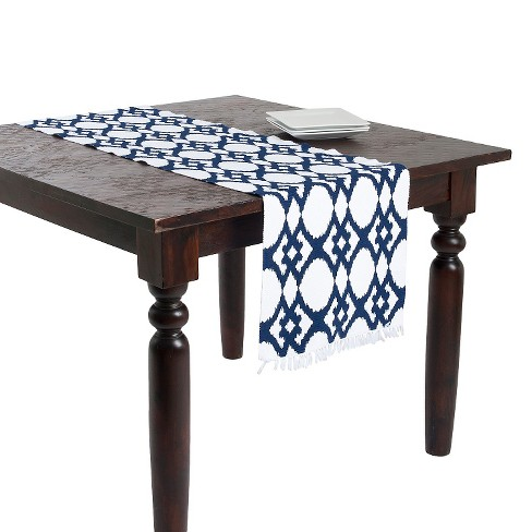 Ikat Design Ribbed Table Runner - image 1 of 2