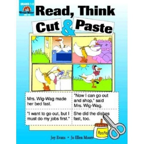 Read Think Cut & Paste - by  Evan-Moor Educational Publishers (Paperback) - image 1 of 1