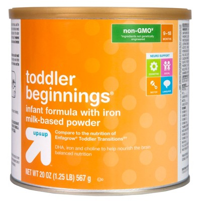 Baby Formula: up & up Toddler Beginnings