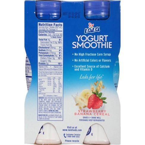 571449c3e9e60 LaLa Strawberry Banana Cereal Yogurt Smoothie - 7 Fl Oz 4ct   Target
