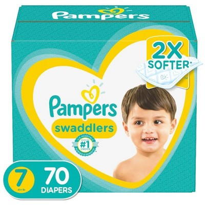 Pampers Swaddlers Disposable Diapers Enormous Pack - 70ct