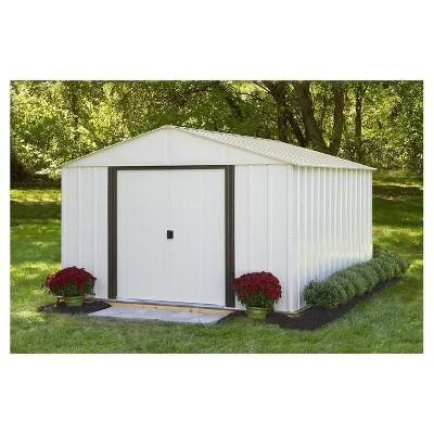 Arlington 10u0027 X 12u0027 Steel Storage Shed   Arrow Storage Products : Target