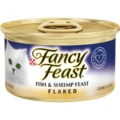 Purina Fancy Feast Flaked Wet Cat Food - 3oz Can