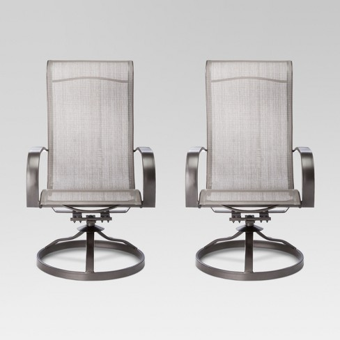 - Camden 2pk Swivel Rocker Patio Dining Chair - Threshold™ : Target