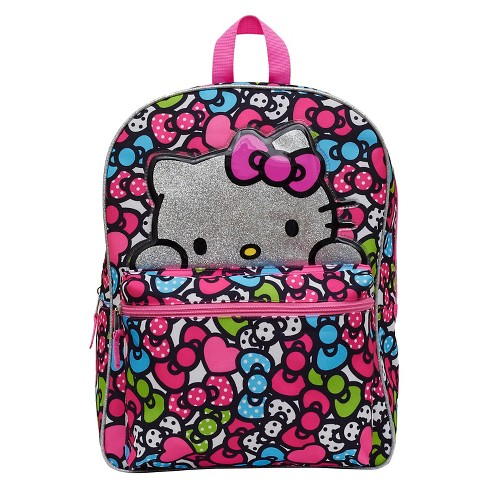 "Hello Kitty 16"" Bows Kids' Backpack - Pink - image 1 of 3"