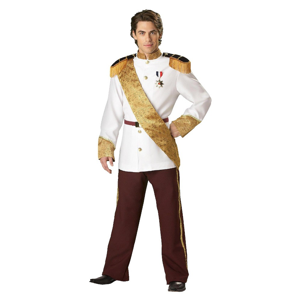 Image of Halloween Men's Prince Charming Elite Collection Costume - Large, MultiColored