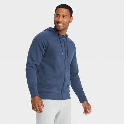 Men's Cotton Fleece Full Zip Hoodie - All in Motion™
