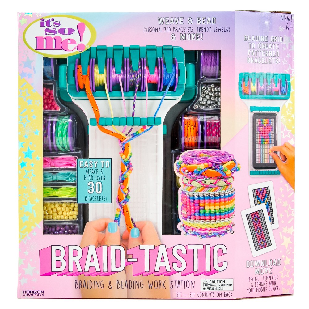 Image of It's So Me Braid-tastic! Braiding & Beading Workstation