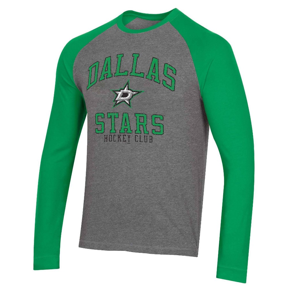 Nhl Dallas Stars Men 39 S Long Sleeve Raglan T Shirt Xl