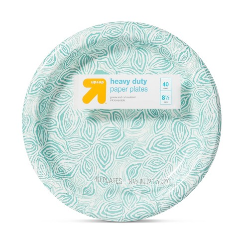 """Relief Vine Paper Plate 8.5"""" - 40ct - Up&Up™ - image 1 of 2"""