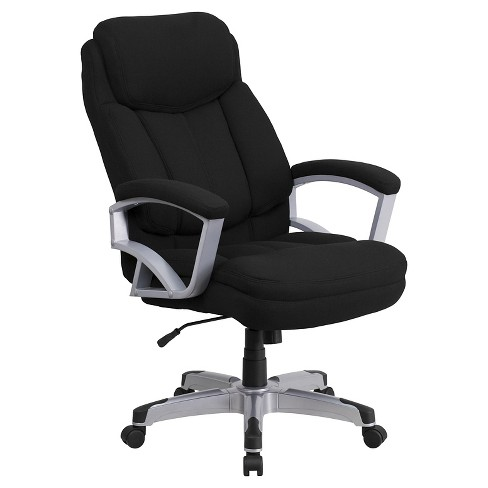 Hercules Series 500 Lb Capacity Tall Executive Swivel Office Chair Black Flash Furniture