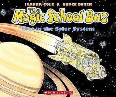 Magic School Bus Lost in the Solar System (Paperback)(Joanna Cole)