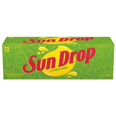 Sun Drop Soda - 12pk/12 fl oz Cans - image 1 of 3