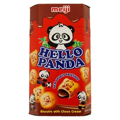 Meiji Hello Panda Choco Cream Biscuits - 2oz