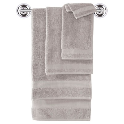 6pc Amadeus Turkish Bath Towel Set Beige - Makroteks