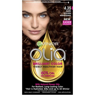 Garnier Olia Brilliant Color - 4.35 Dark Golden Mahogany