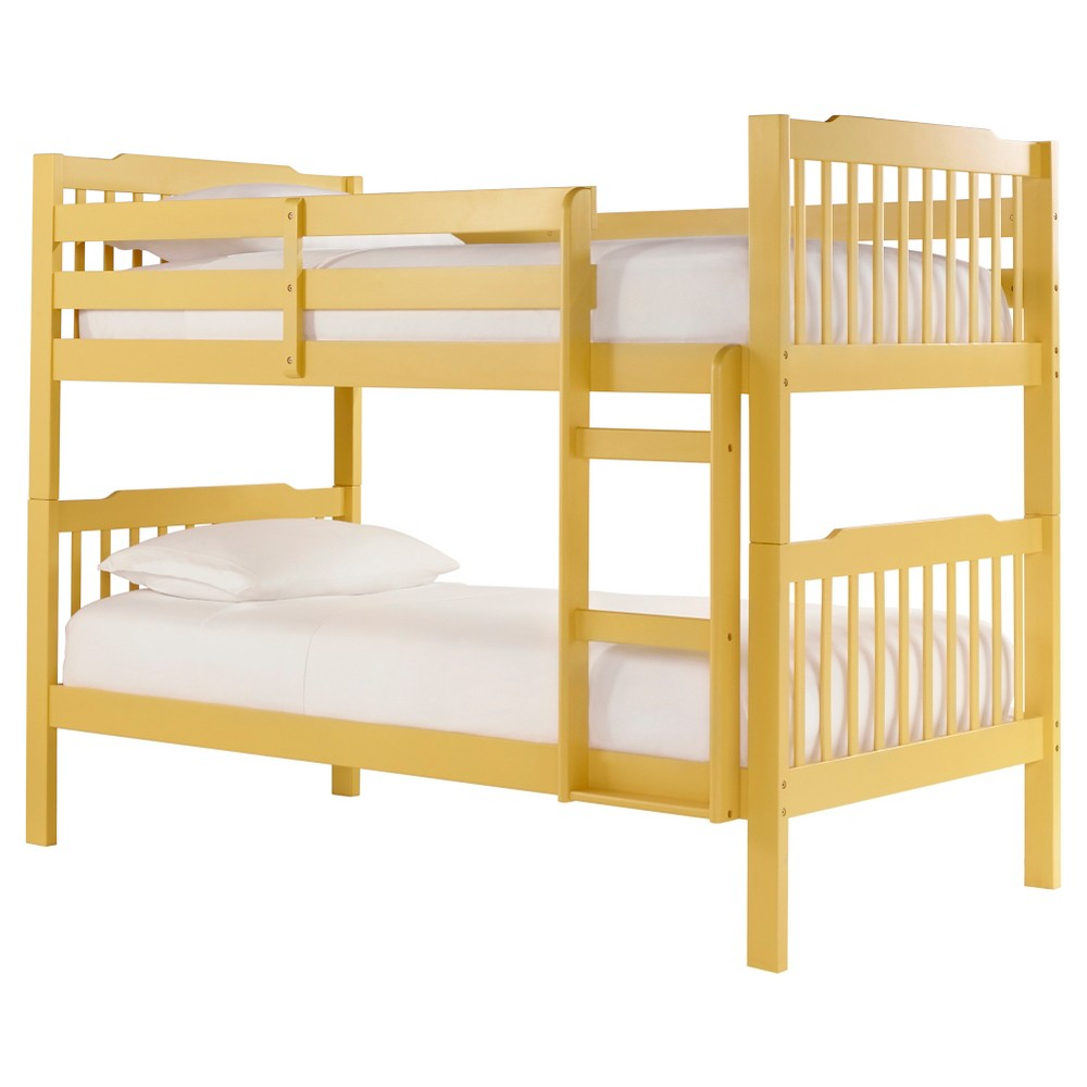 Nacona Mission Bunk Bed - Yellow