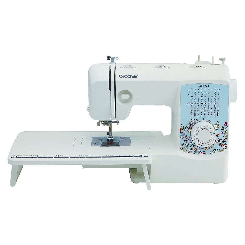 Image of Brother International XR3774 Sewing Machine, White