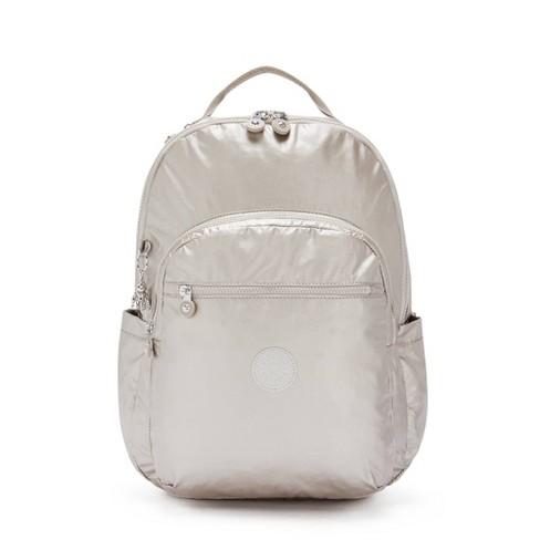 "Kipling Seoul Extra Large Metallic 17"" Laptop Backpack - image 1 of 4"