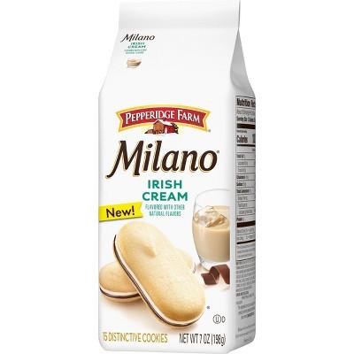 Pepperidge Farm Milano Irish Cream Cookies - 7oz/15ct