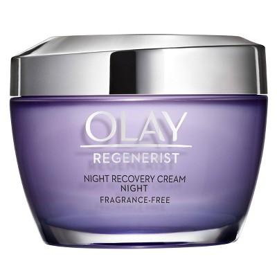 Facial Moisturizer: Olay Regenerist Night Recovery Cream