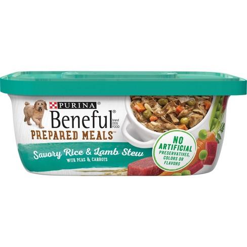 Puina Beneful Prepared Meals Flavored Stew Wet Dog Food - 10oz - image 1 of 4