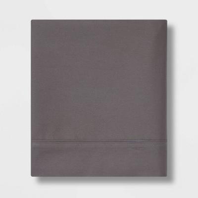 Ultra Soft Flat Sheet (Queen)Gray 300 Thread Count - Threshold™