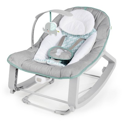 Ingenuity Keep Cozy 3-in-1 Grow with Me Bounce & Rock Seat - Weaver