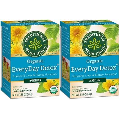 Traditional Medicinals EveryDay Detox Dandelion Organic Tea - 32ct