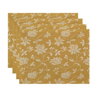Placemat Amber Green e by design