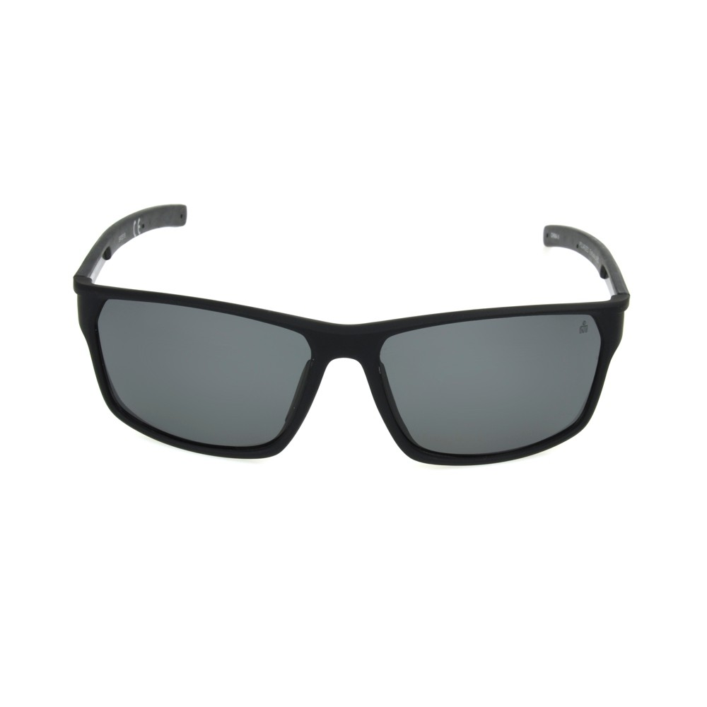 Image of Iron Man Men's Square Sunglasses - Black, Size: Small