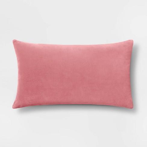 Solid Velvet Pillow - Threshold™ - image 1 of 4