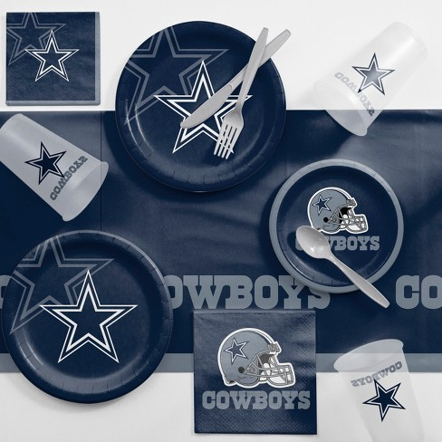 NFL Navy Blue Dallas Cowboys Game Day Party Supplies Kit - image 1 of 1