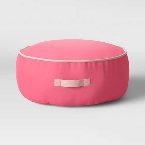 Kids Floor Cushion with Handle Pink - Pillowfort™ - image 1 of 3