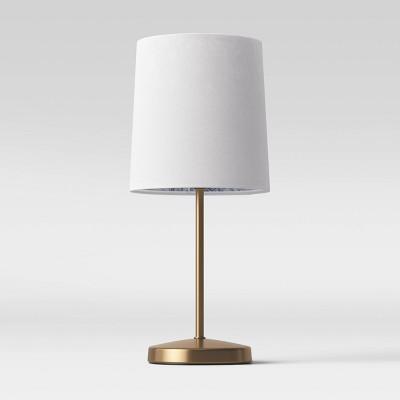Mini Stick Table Lamp Jungle Print Brass (Includes Energy Efficient Light Bulb)- Opalhouse™