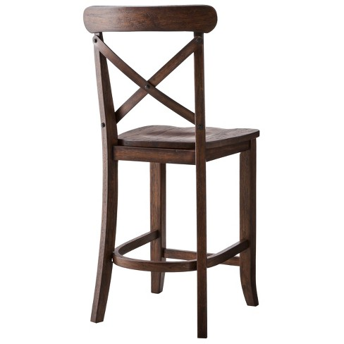 Harvester X Back 24 Counter Stool Hardwood Beekman 1802 Farmhouse