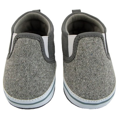 Baby Boys' Rising Star Twin Gore Sneakers - Gray 9-12M