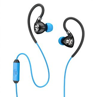 JLab Fit Sport Wired Earbuds - Blue