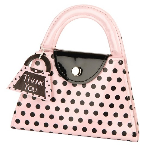 6ct Kate Aspen Pink Polka Purse Manicure Set - image 1 of 1