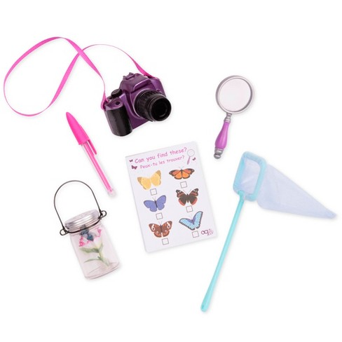 "Our Generation Flutter Finder - Butterfly Accessory Set for 18"" Dolls - image 1 of 1"