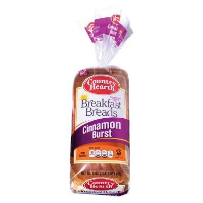 Country Hearth Cinnamon Burst Breakfast Breads - 18oz