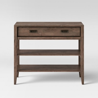 Millbury Rustic Wood Console Table - Threshold™