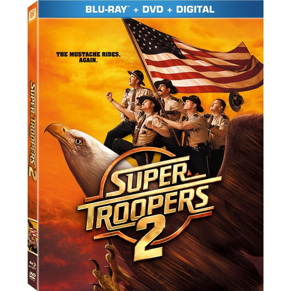 Super Troopers 2 Blu Ray Digital