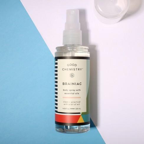 Brainiac by Good Chemistry Body Mist Women's Body Spray - 4 25 fl oz