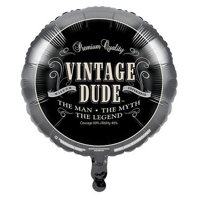 Vintage Dude Mylar Balloon