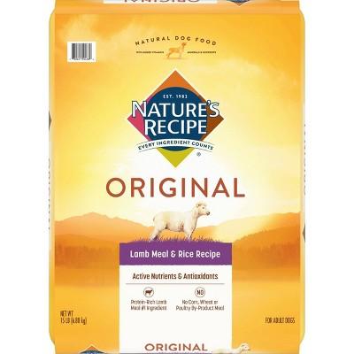Nature's Recipe Original Lamb Meal & Rice Recipe Adult Dry Dog Food