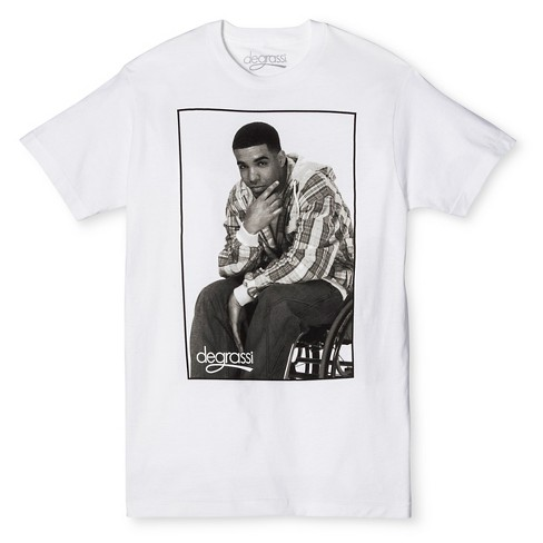 d57fc59a9f9 Men's Drake Degrassi T-Shirt White M