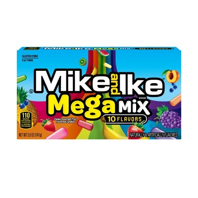 Mike and Ike Mega Mix Chewy Assorted Candy - 5oz