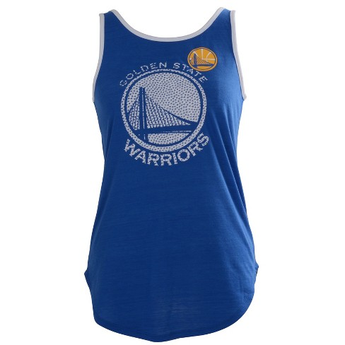 1da19d8e12839f NBA Golden State Warriors Women s B-Ball Slub Jersey Tank Top   Target