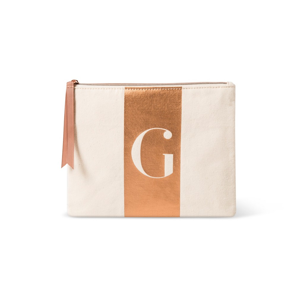 Makeup Bags And Organizer - Letter G